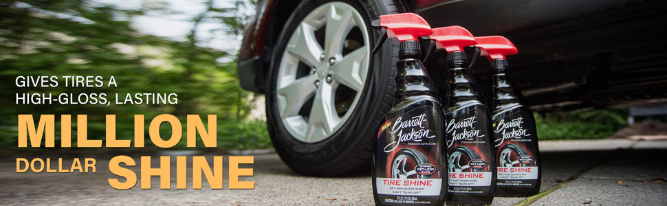 Click Getter work, Barrett-Jackson, Auto Care, Tire Shine, Amazon Marketing