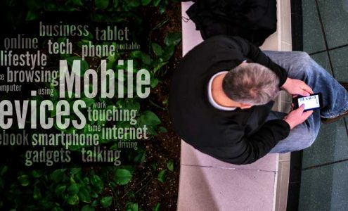 mobile friendly business websites on mobile phone
