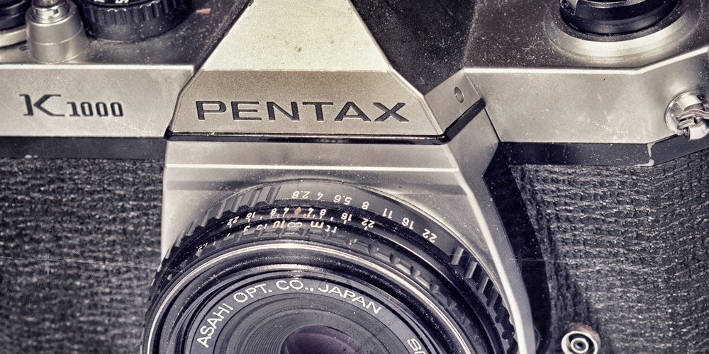 Pentax K1000, Business Website, Using WordPress