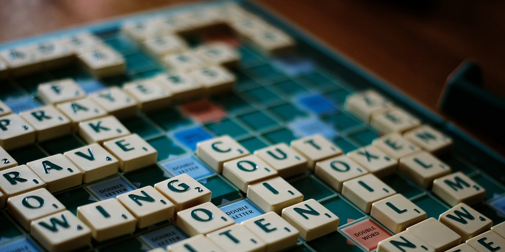scrabble game, selling on amazon, finding words customers use